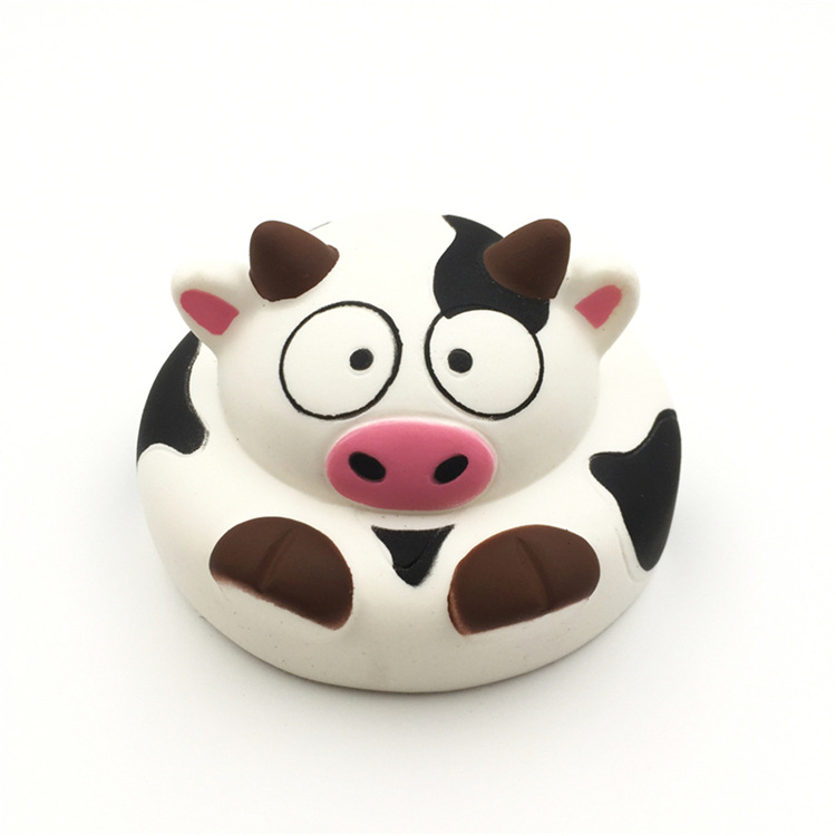 High Quality Soft Slow Rising Mini Milk Dairy Cow Keychain Kids Squishy Toys With Good Smell