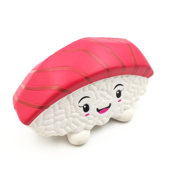 High Quality Soft Slow Rising Scented Stress Squishy Toys Sushi Mochi Squishy