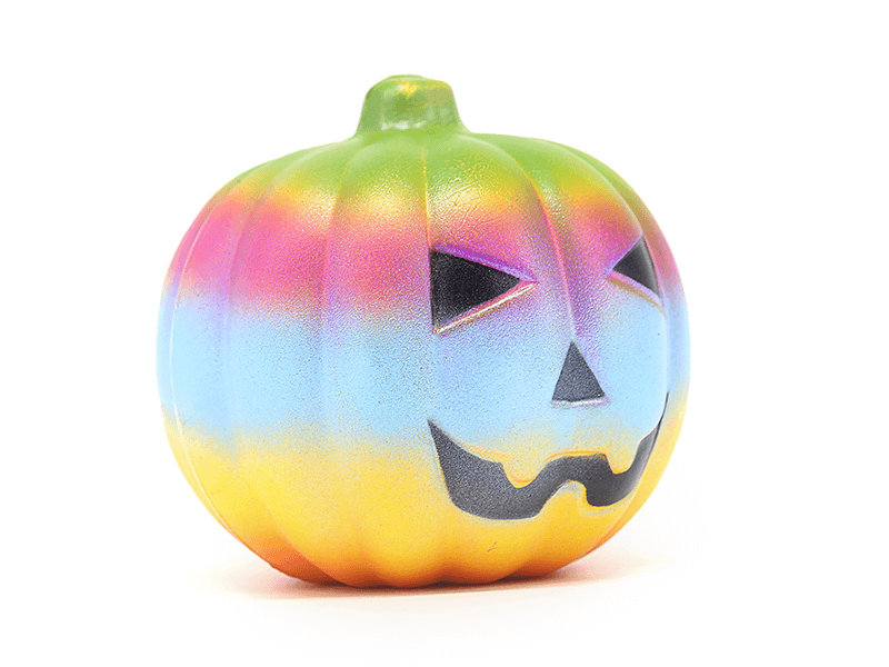Giantic Halloween Pumpkin Food Kawaii Cute Slowly Rising Stress Relief Soft Scented Squishy Toys