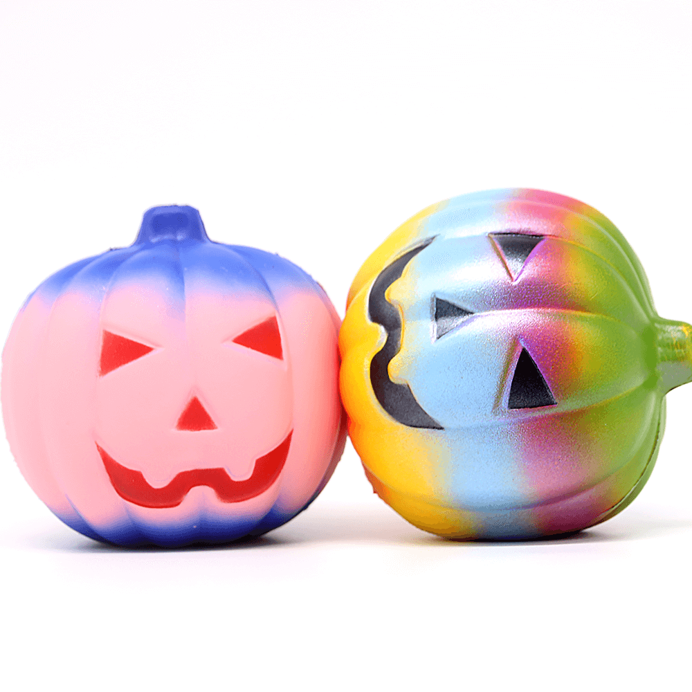 Giantic Halloween Pumpkin Kawaii Slowly Rising Soft Scented Squishy Toys