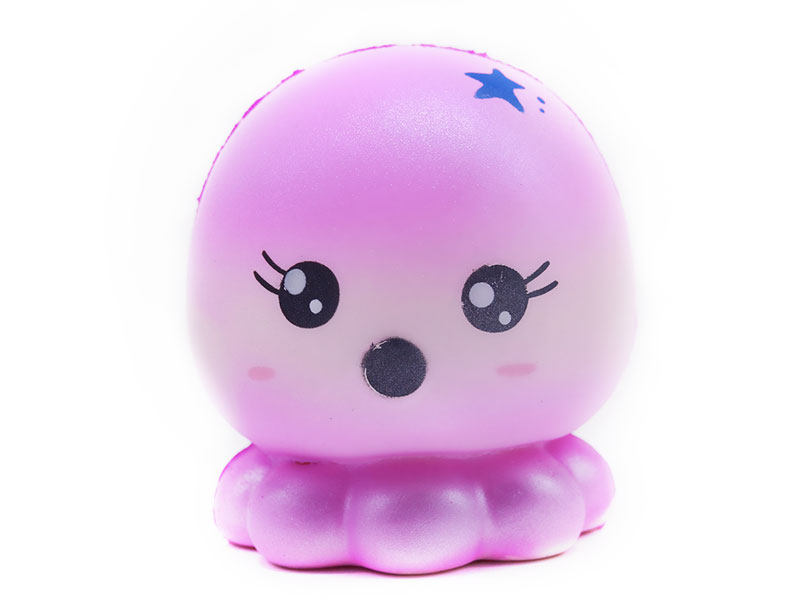 Wholesale Jumbo Squishy Toys Cute Star octopus Squishies