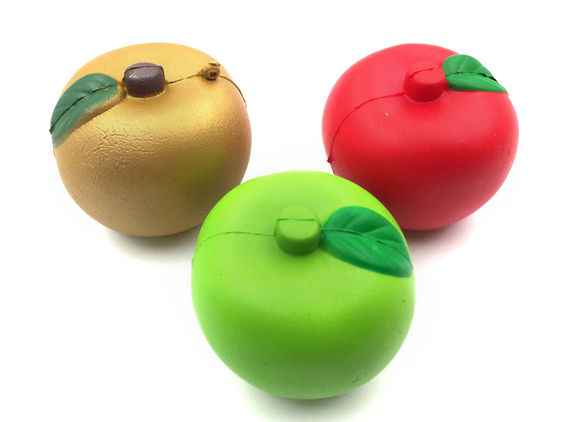 High Quality Soft Slow Rising With Good Smell Fruit Apple Kids Squishy Toys