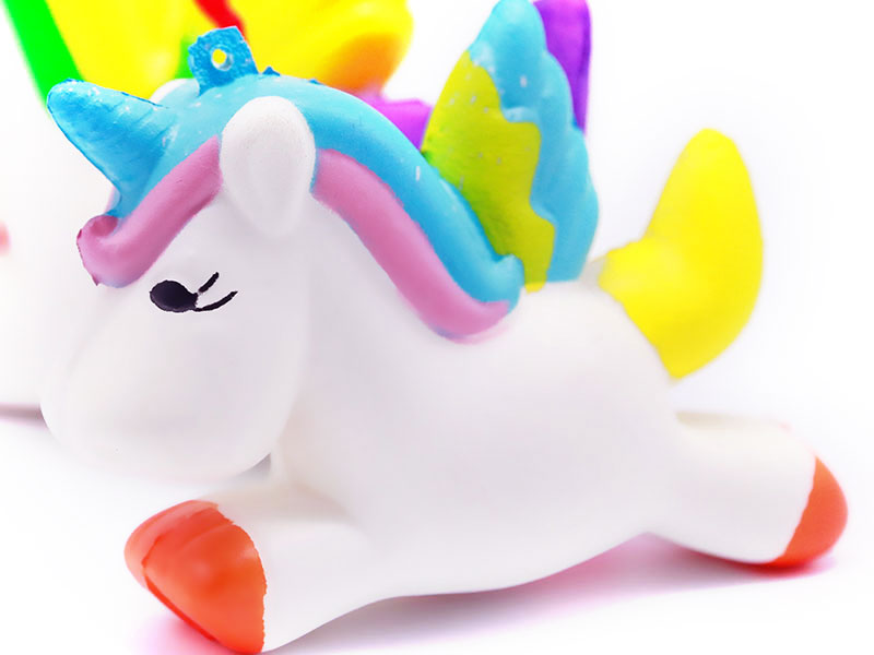 China Factory Soft Kids Squishy Slow Rising Kawaii Animal Unicorn Squishy Toys